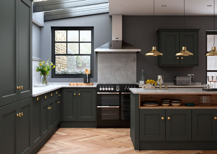 first impressions kitchen cabinets allestree bespoke painted kitchen impressions 15457